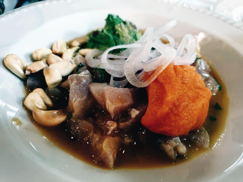 Taberna los Gallos - Ceviche de Corvina