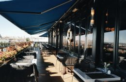 Terraza del Brunch del Hotel Only You Atocha