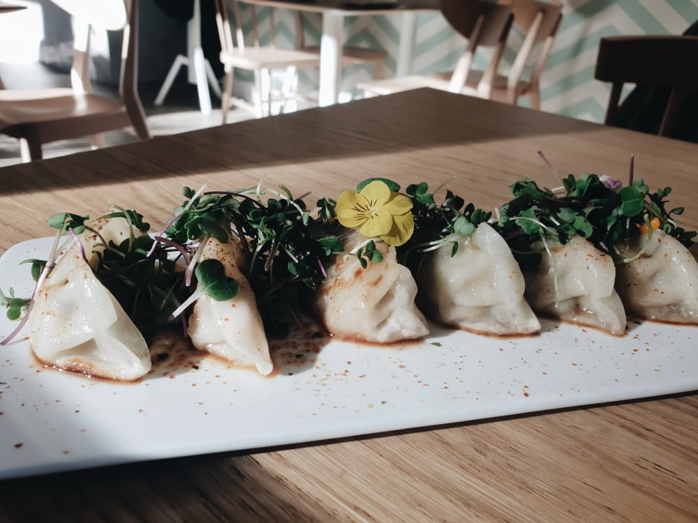 The Brave Café - Gyozas de Pollo y Verdura