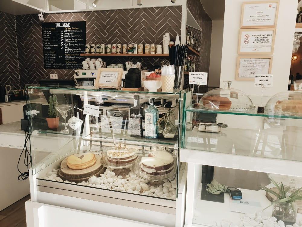 The Brave Café - Mostrador