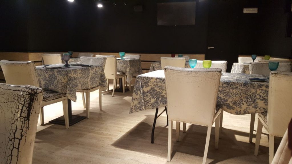 Restaurante Palacio de Anglona - Mesas